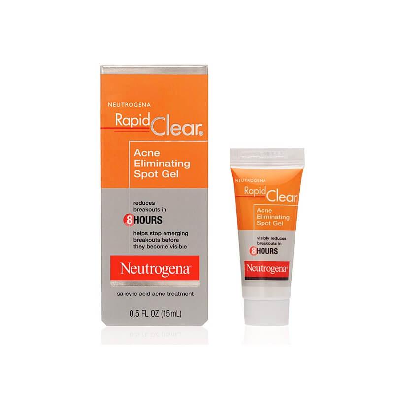 trị mụn ẩn cho nữ Neutrogena Rapid Clear Acne Defense Face Lotion