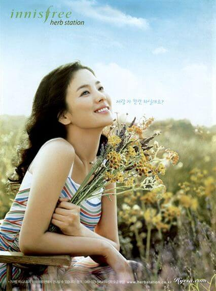 song-hye-kyo-innisfree