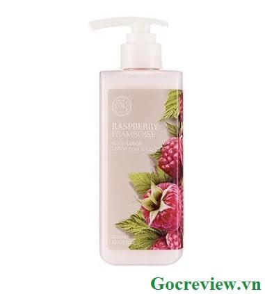 sua-duong-the-chong-lao-hoa-raspberry-body-lotion