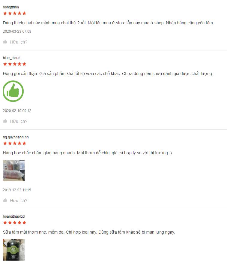 sua-tam-Olive-Shower-Gel-review