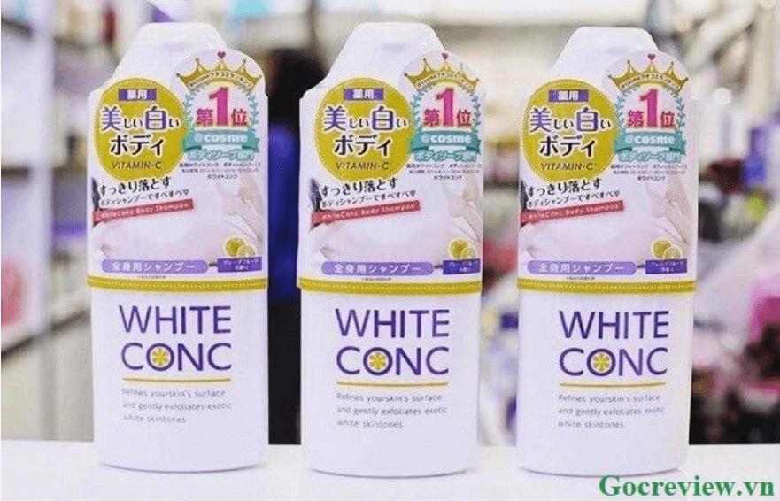 sua-tam-white-conc-trang-da-nhat-ban