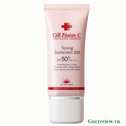 kem-chong-nang-cell-fusion-c-Toning-Sunscreen