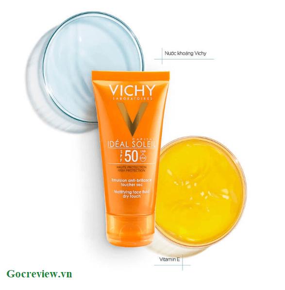 kem-chong-nang-Vichy-Ideal-Soleil-Mattifying-Face-Fluid-Dry-Touch