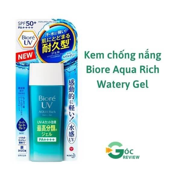 Kem-chong-nang-Biore-Aqua-Rich-Watery-Gel
