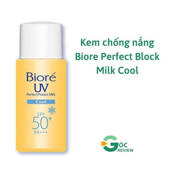Kem-chong-nang-Biore-Perfect-Block-Milk-Cool