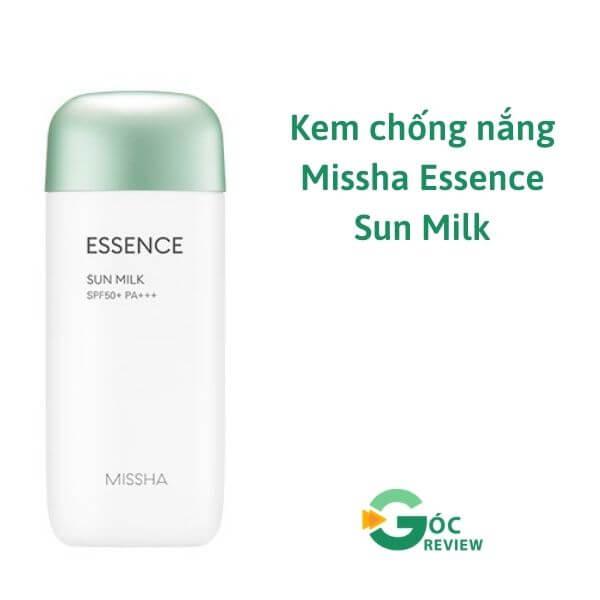 Kem-chong-nang-Missha-Essence-Sun-Milk