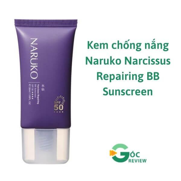 Kem-chong-nang-Naruko-Narcissus-Repairing-BB-Sunscreen