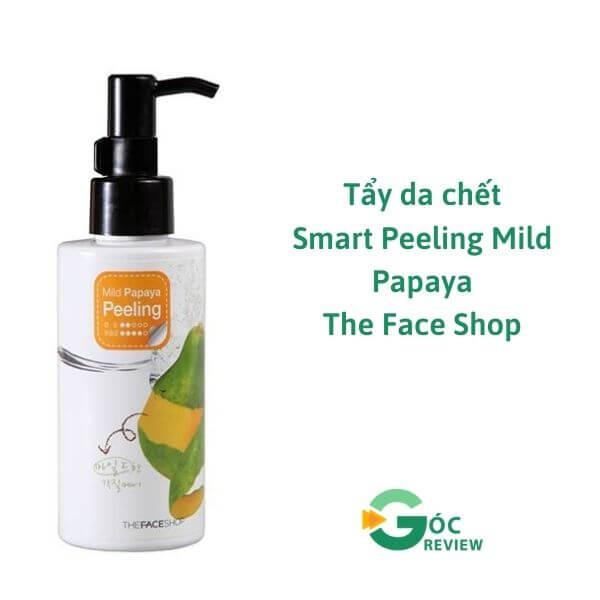 Tay-da-chet-Smart-Peeling-Mild-Papaya-The-Face-Shop