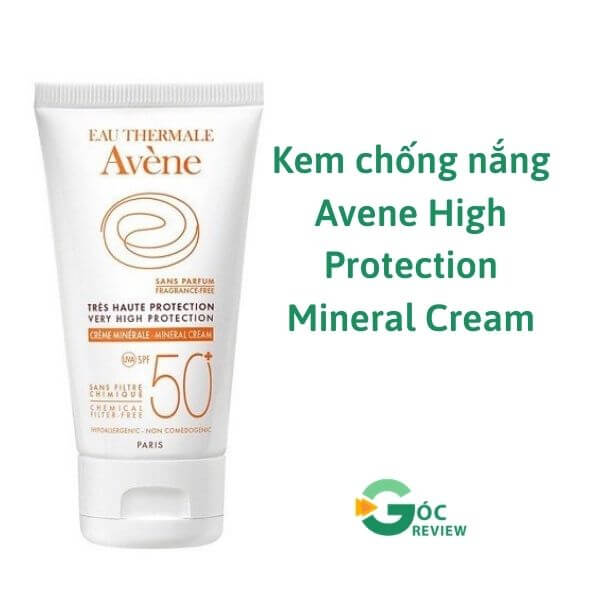 Kem-chong-nang-Avene-High-Protection-Mineral-Cream